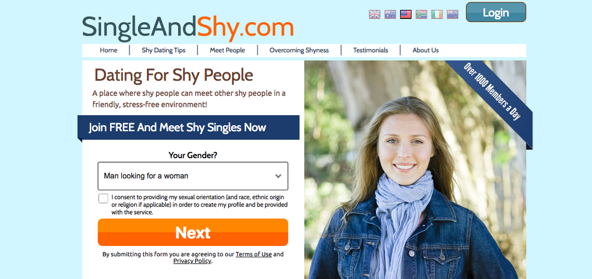 the online dating rituals of the american male: best dating site for shy people