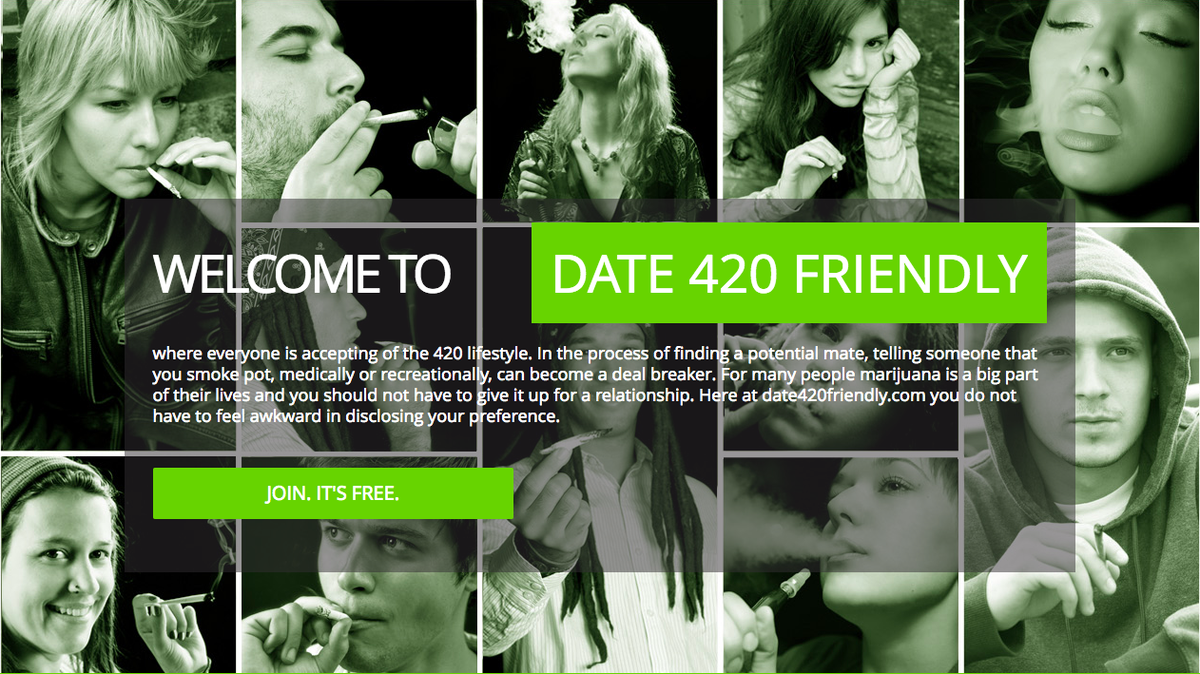 The true story of 420 dating
