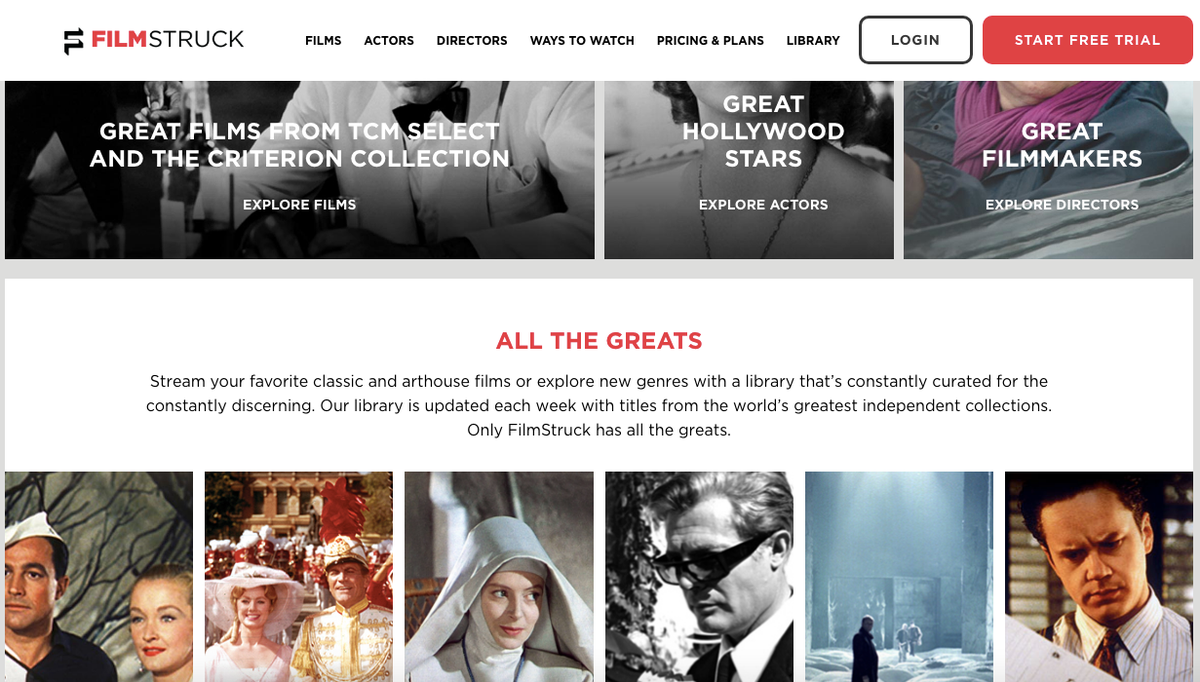 Movies: a selection of sites