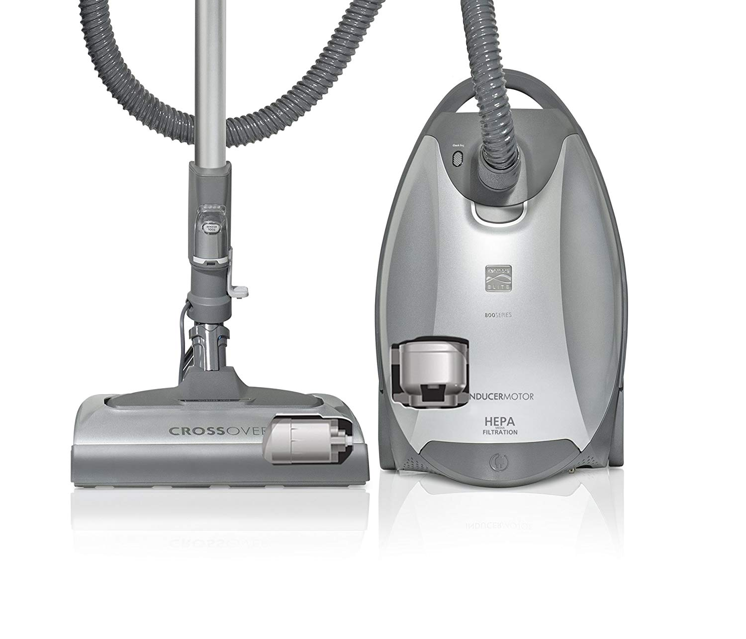 Kenmore Elite 21814 Pet & Allergy Friendly CrossOver Canister Vacuum