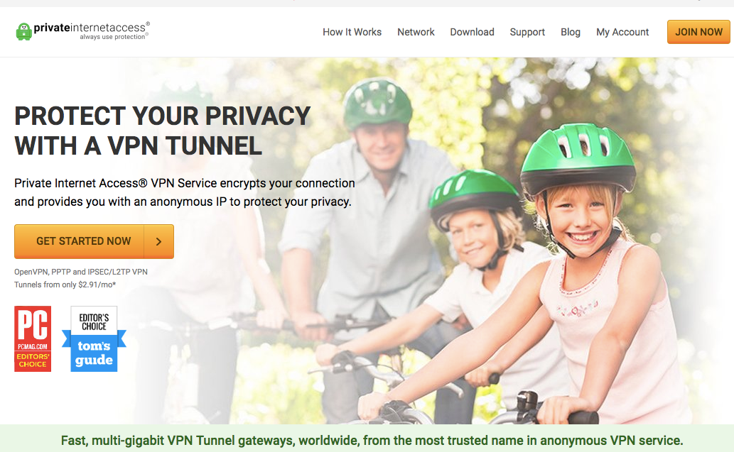 PIA (Private Internet Access) VPN