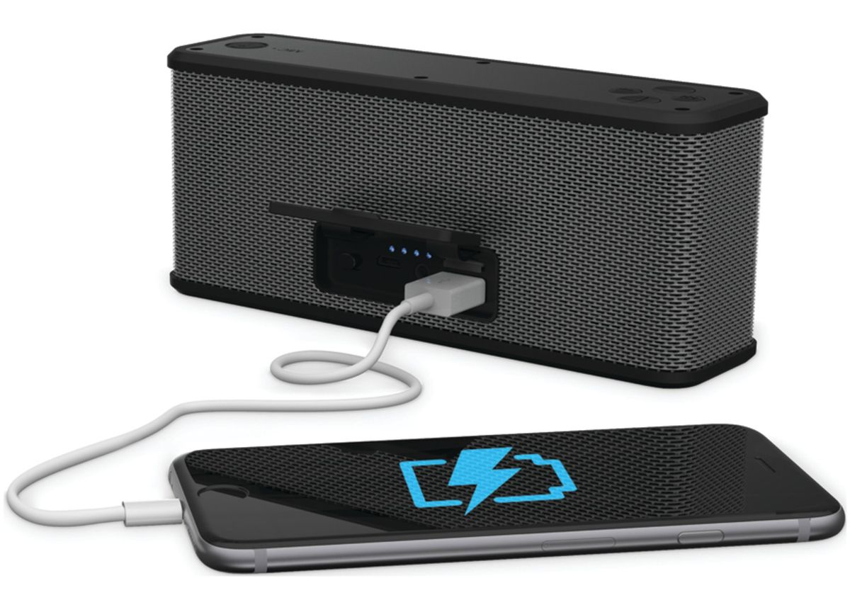 Ematic ESR102 Rugged Life Bluetooth Speaker