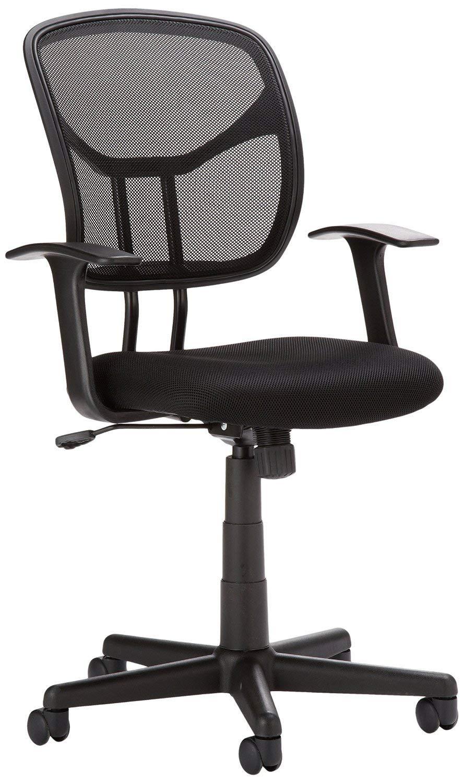 Astonishing Amazon Basics Mid Back Mesh Chair Machost Co Dining Chair Design Ideas Machostcouk