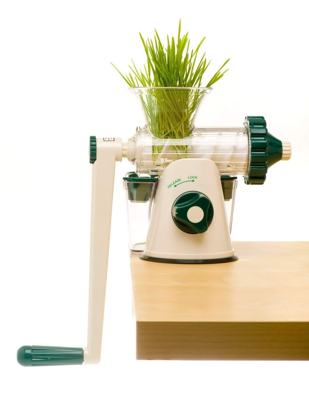 The Original Healthy Juicer Manual Wheatgrass Juicer