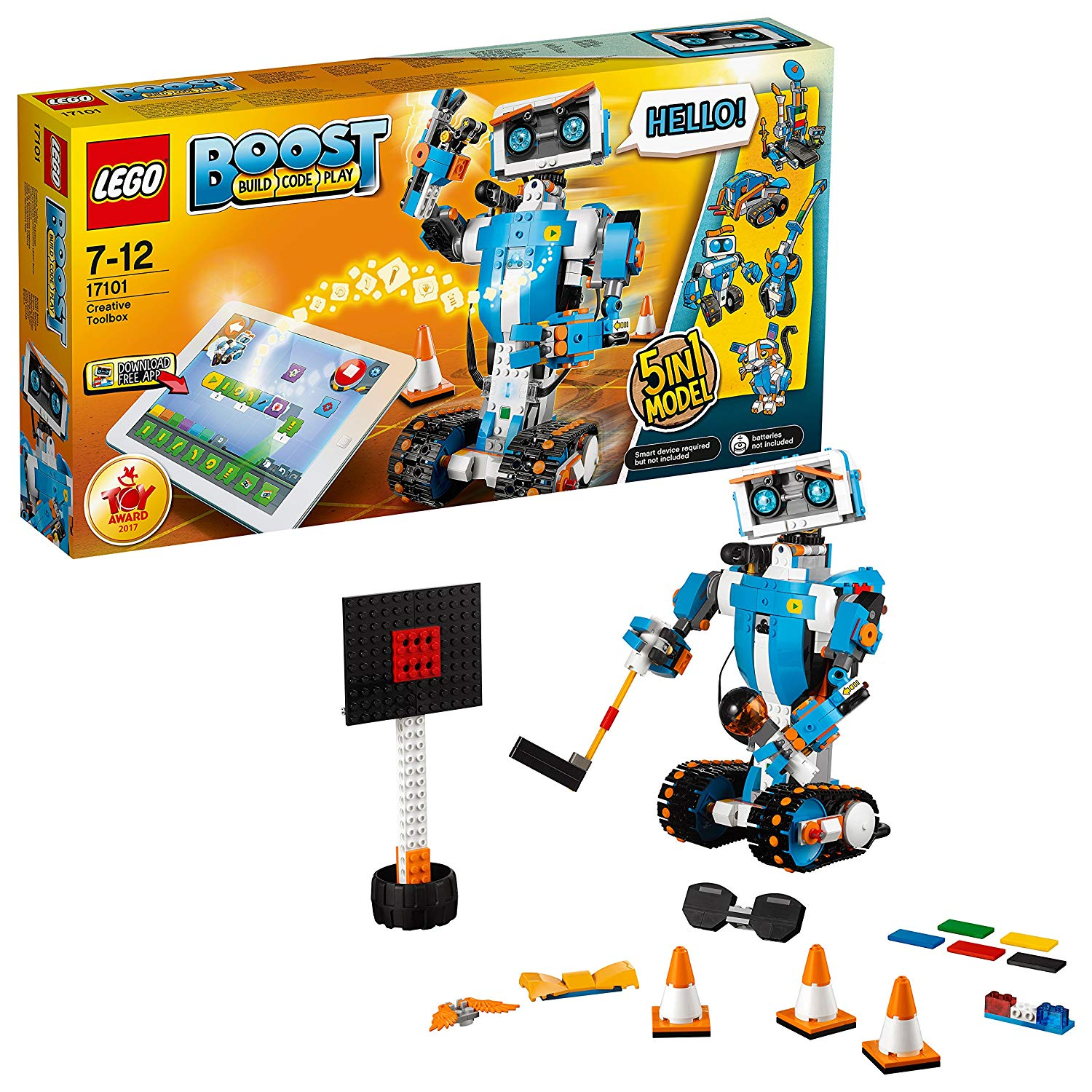 Boost Creative Toolbox Robot Building Kit