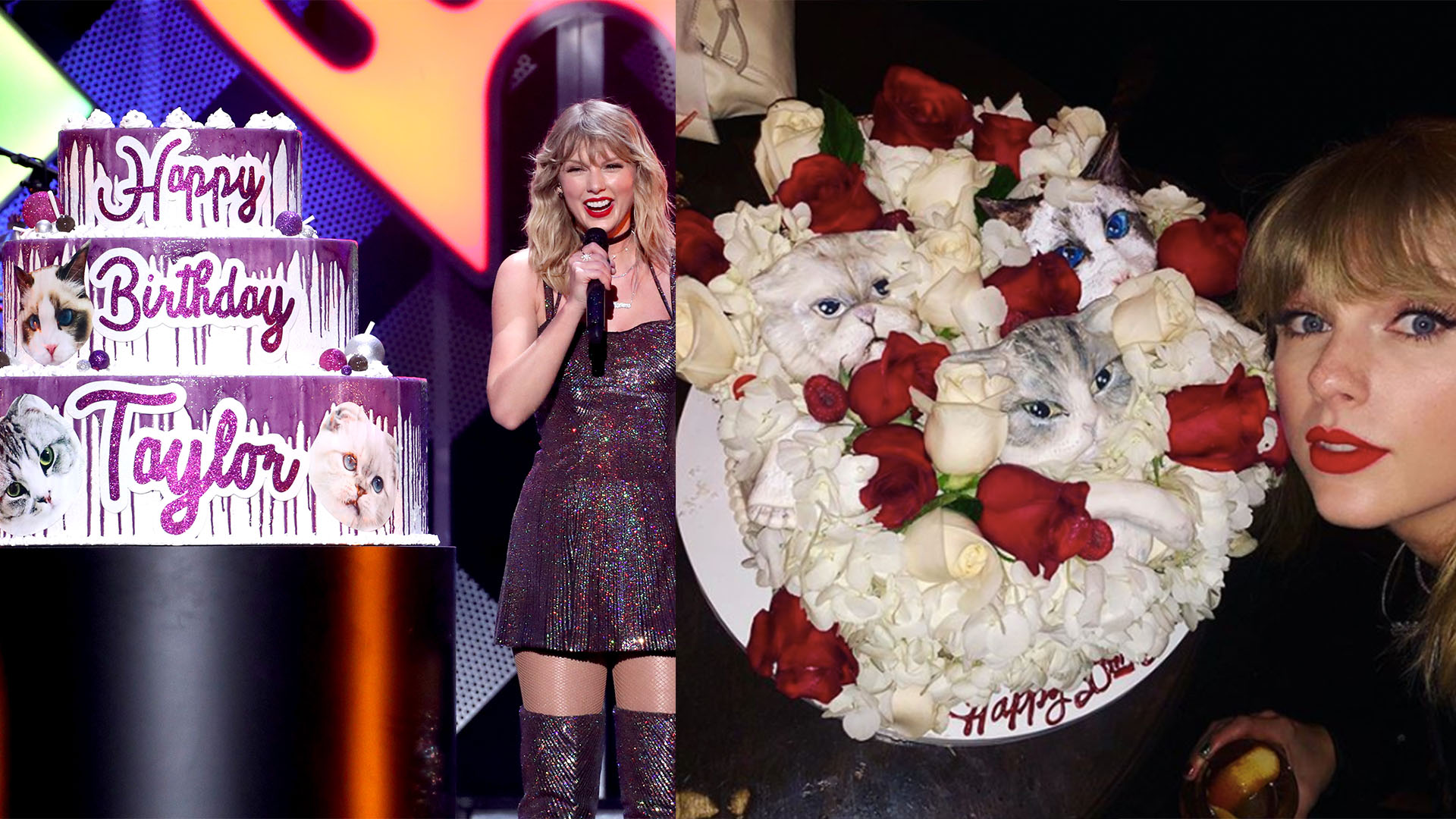 Amazing Taylor Swifts Birthday Cake Is Both Cute And Concerning Funny Birthday Cards Online Inifodamsfinfo
