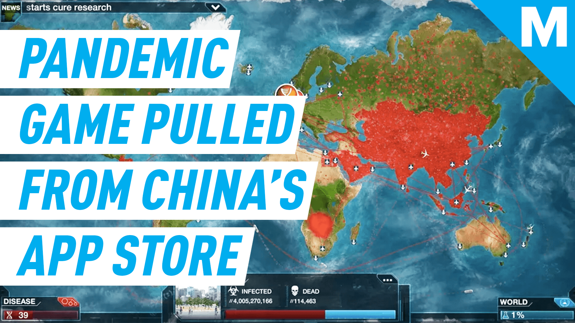 Image of: China S App Store Pulls The Pandemic Simulation Game Plague Inc