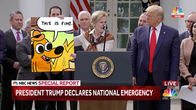 Trump S Covid 19 Press Conference Just Handed Us A Meme Format