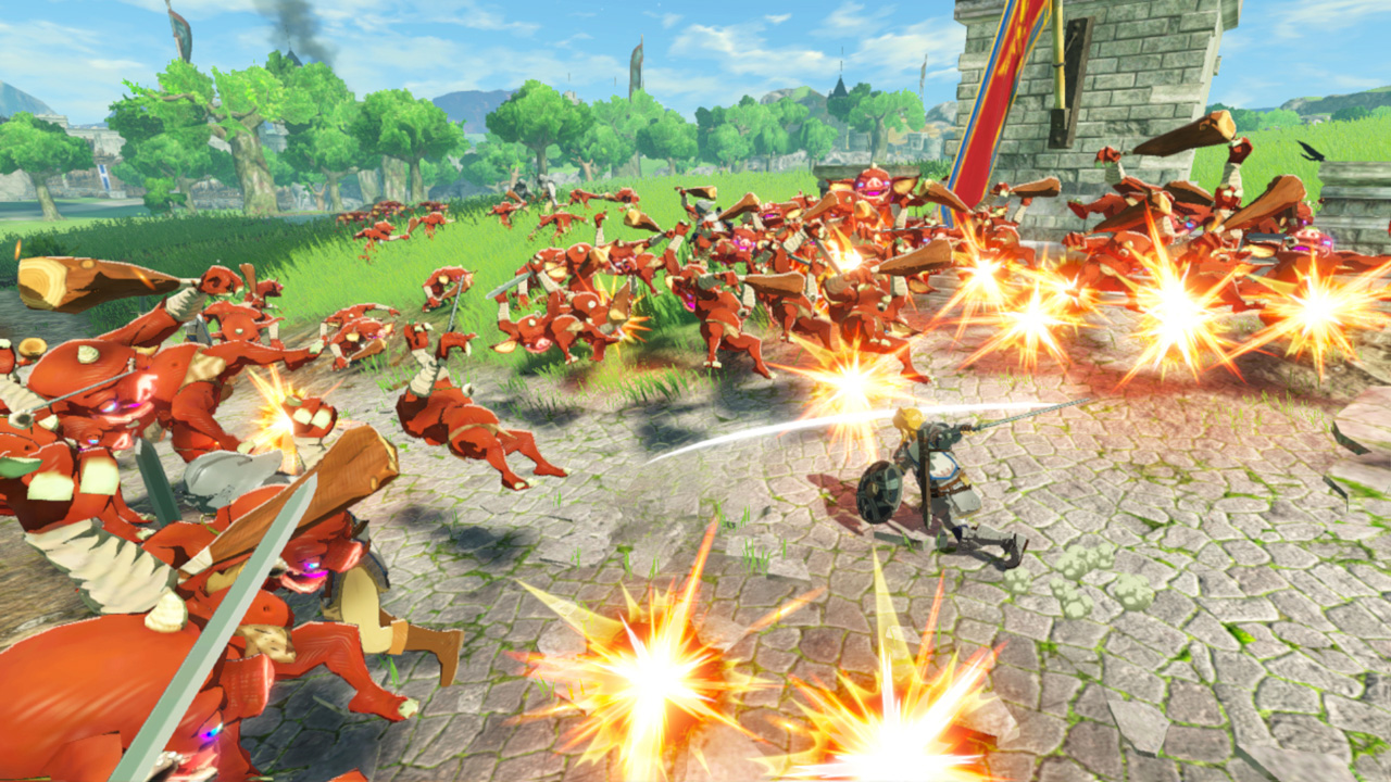 Hyrule Warriors Age Of Calamity Is An Excessive Zelda Spin Off That Mostly Works