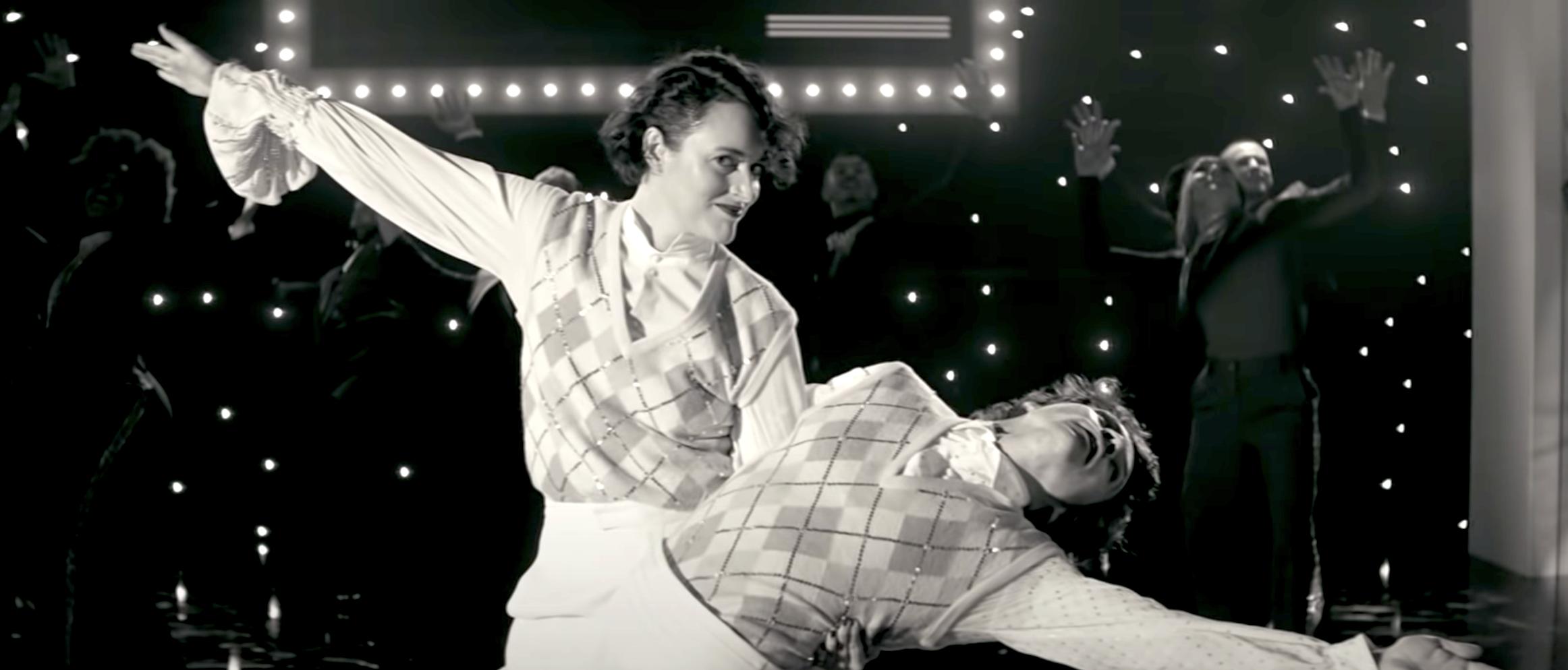 Harry Styles Dances In 2021 With Phoebe Waller Bridge Video Watch
