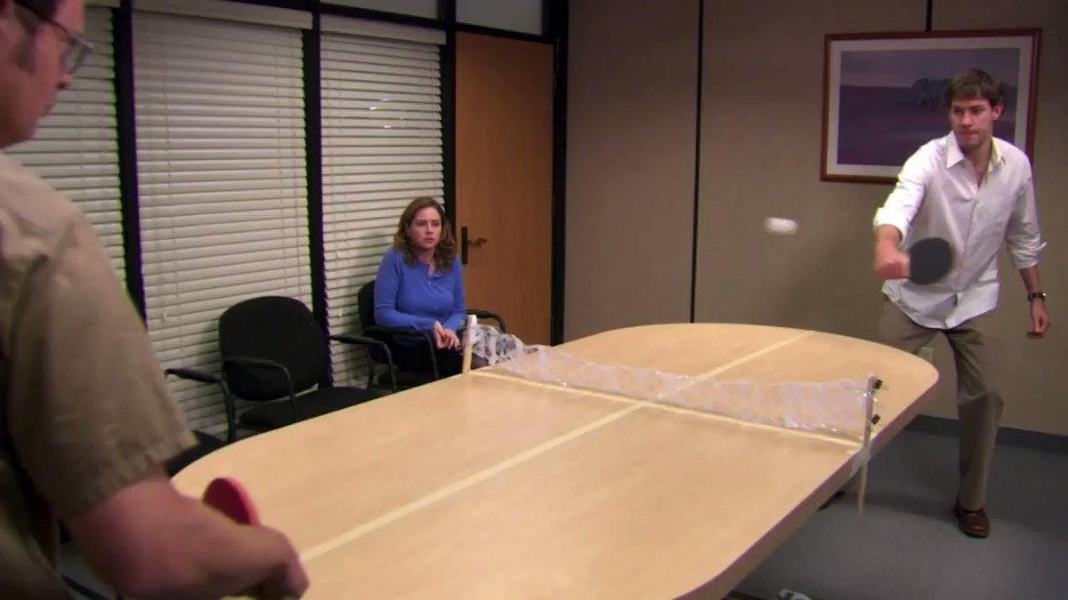 Everything Fans Want To Know About The Ping Pong Scenes From The Office
