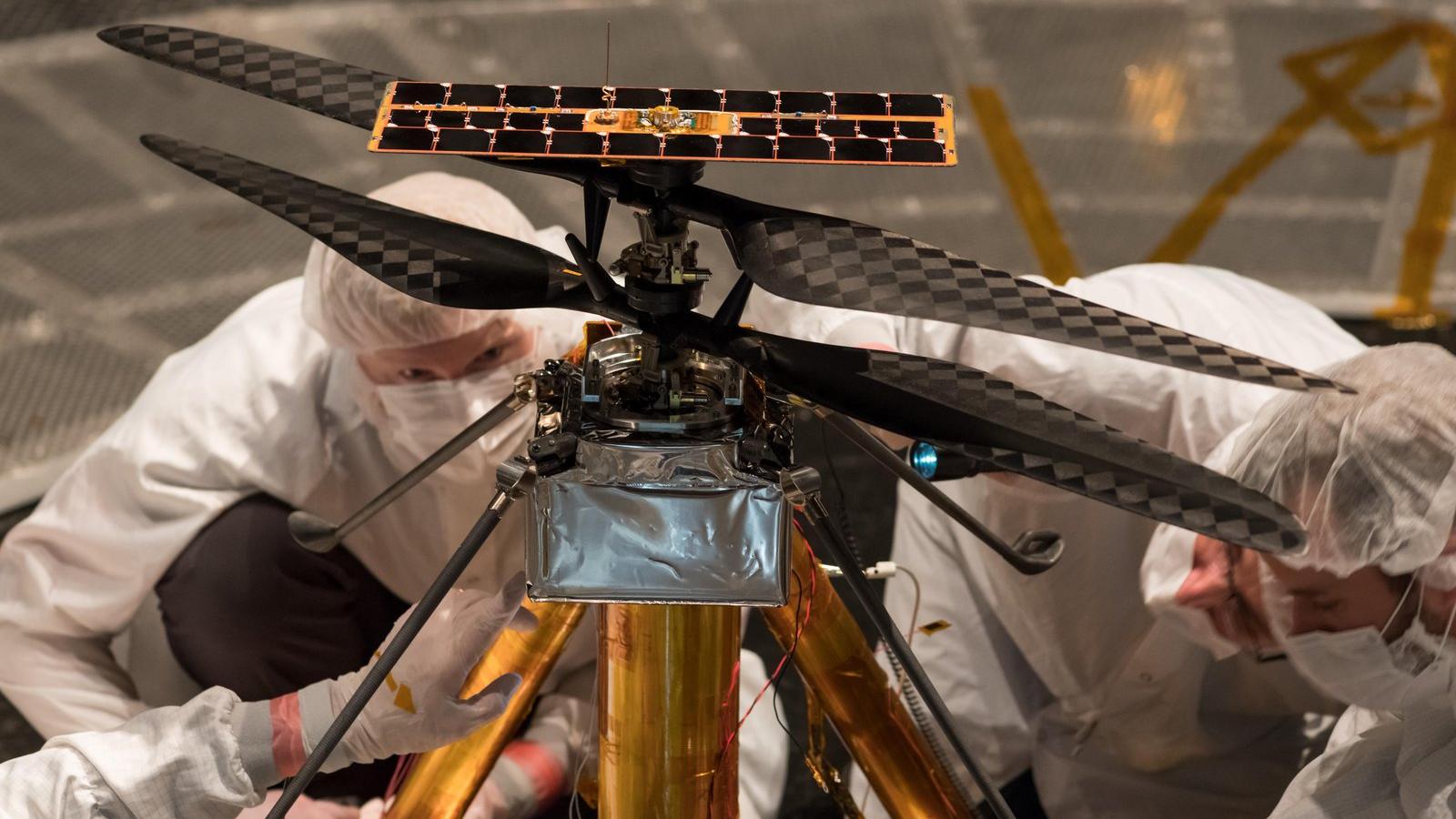 mashable.com - Adam Rosenberg - NASA plans rescheduled Mars Ingenuity helicopter flight for April 19