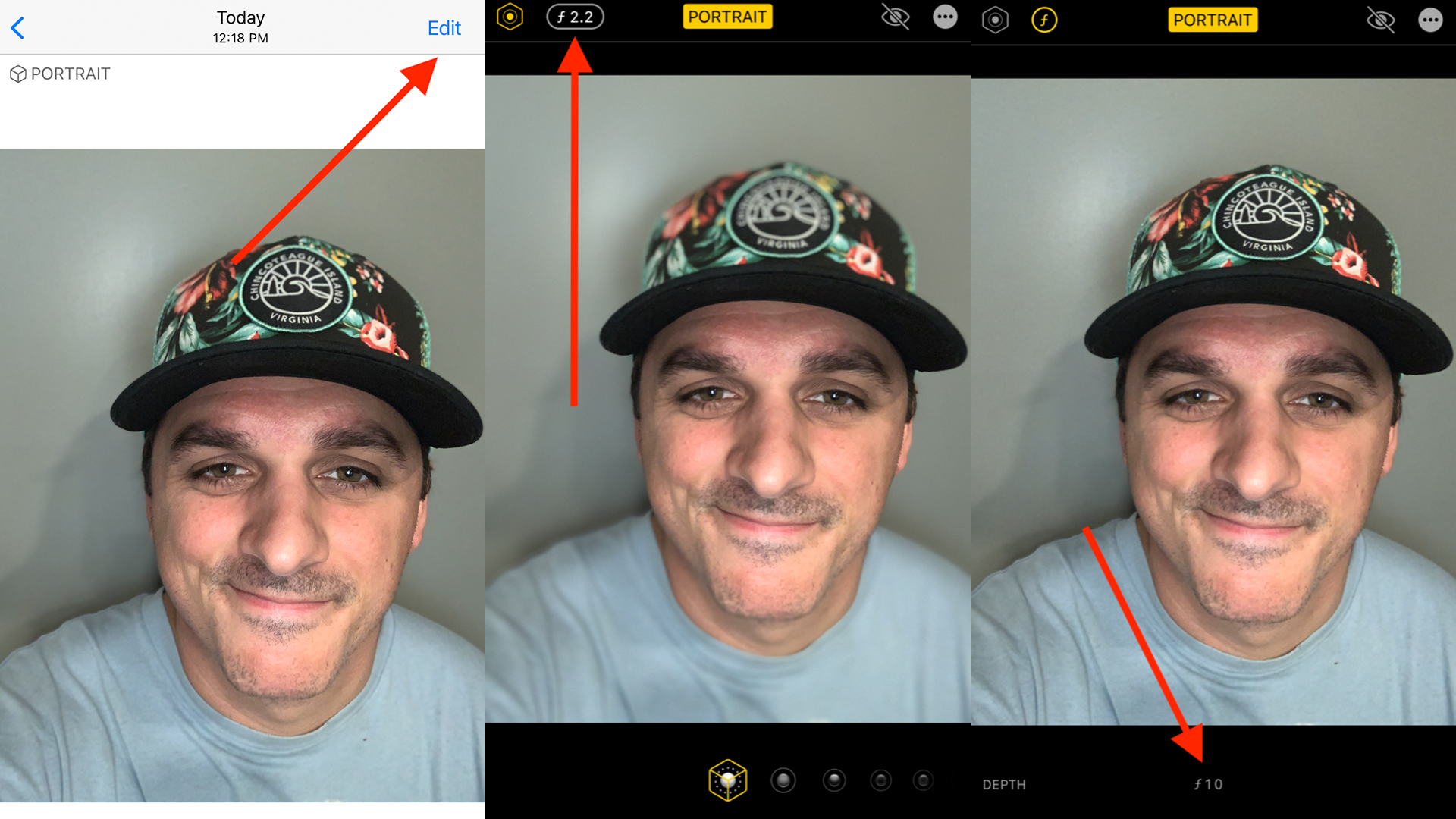 mashable.com - Tim Marcin - How to edit the blur in Portrait Mode on your iPhone