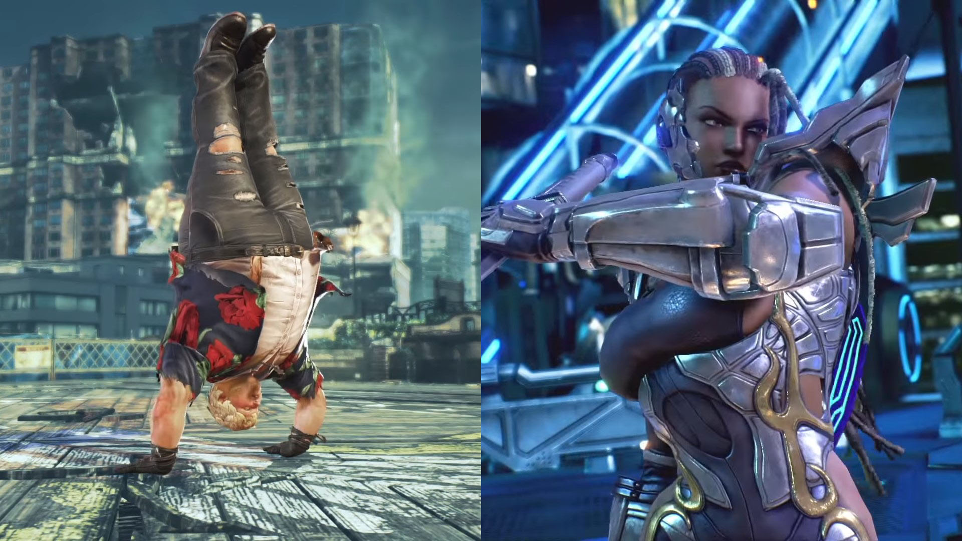 Tekken 7 Adds Bob And Master Raven To The Roster Of Fighters