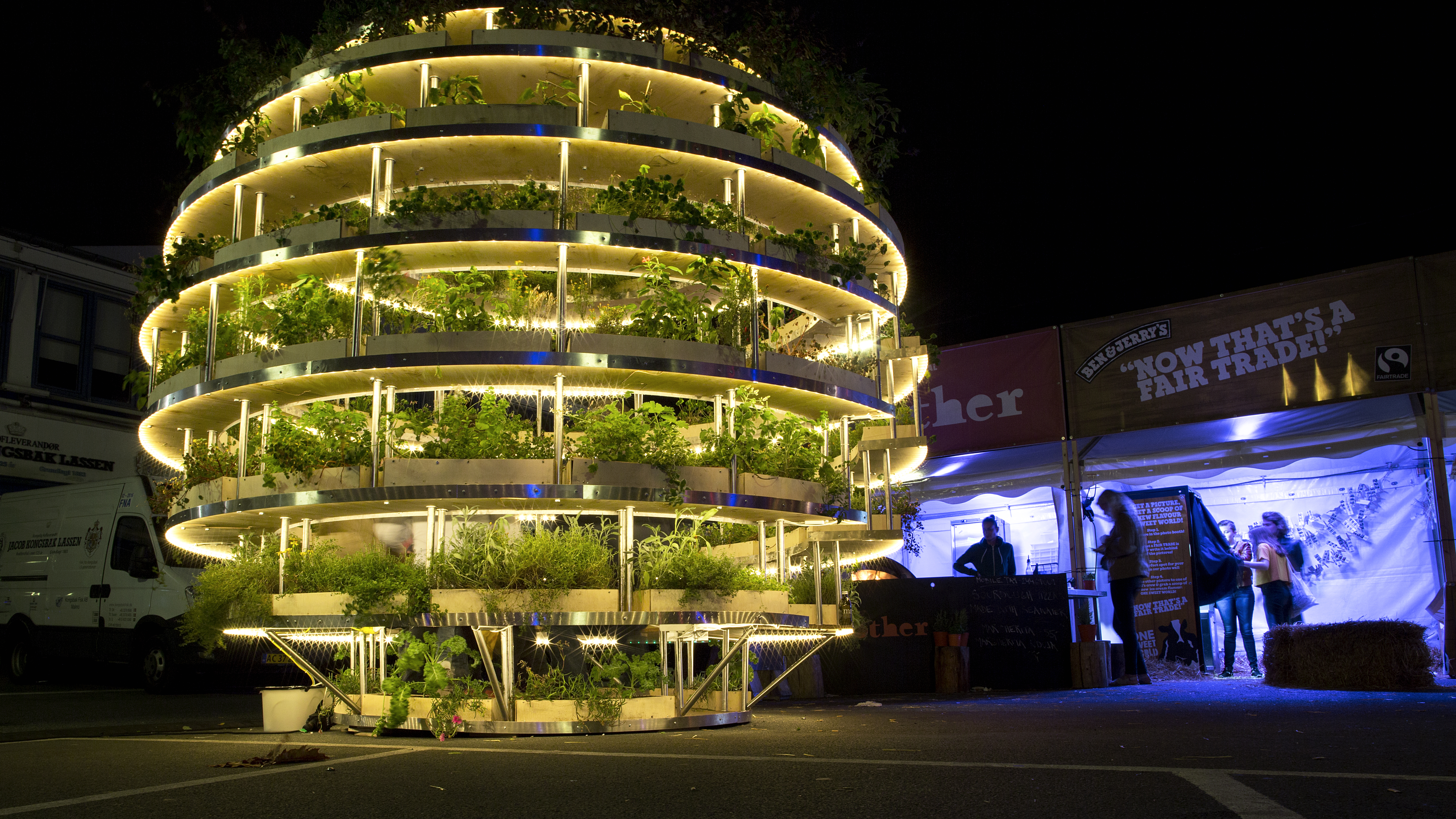 IKEA releases plans for a spherical garden you can build with tons