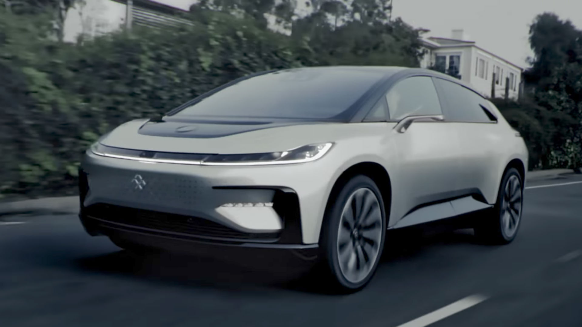 Get a good look at Faraday Future's supercar in new video