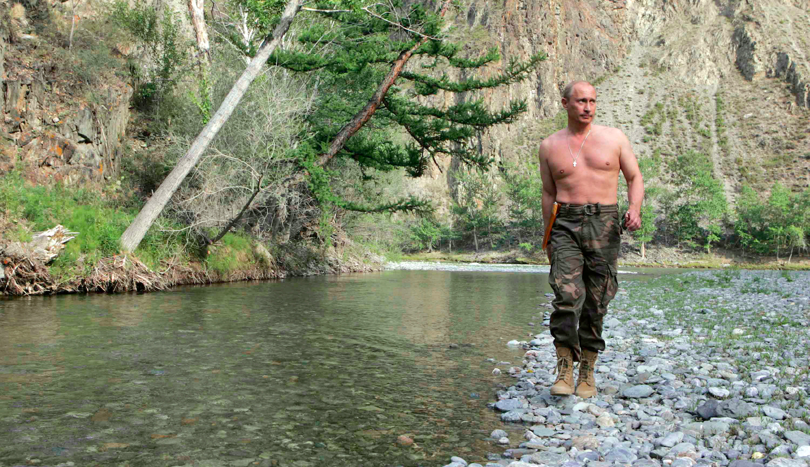 A Guide To Vladimir Putin S Undeniable Masculinity