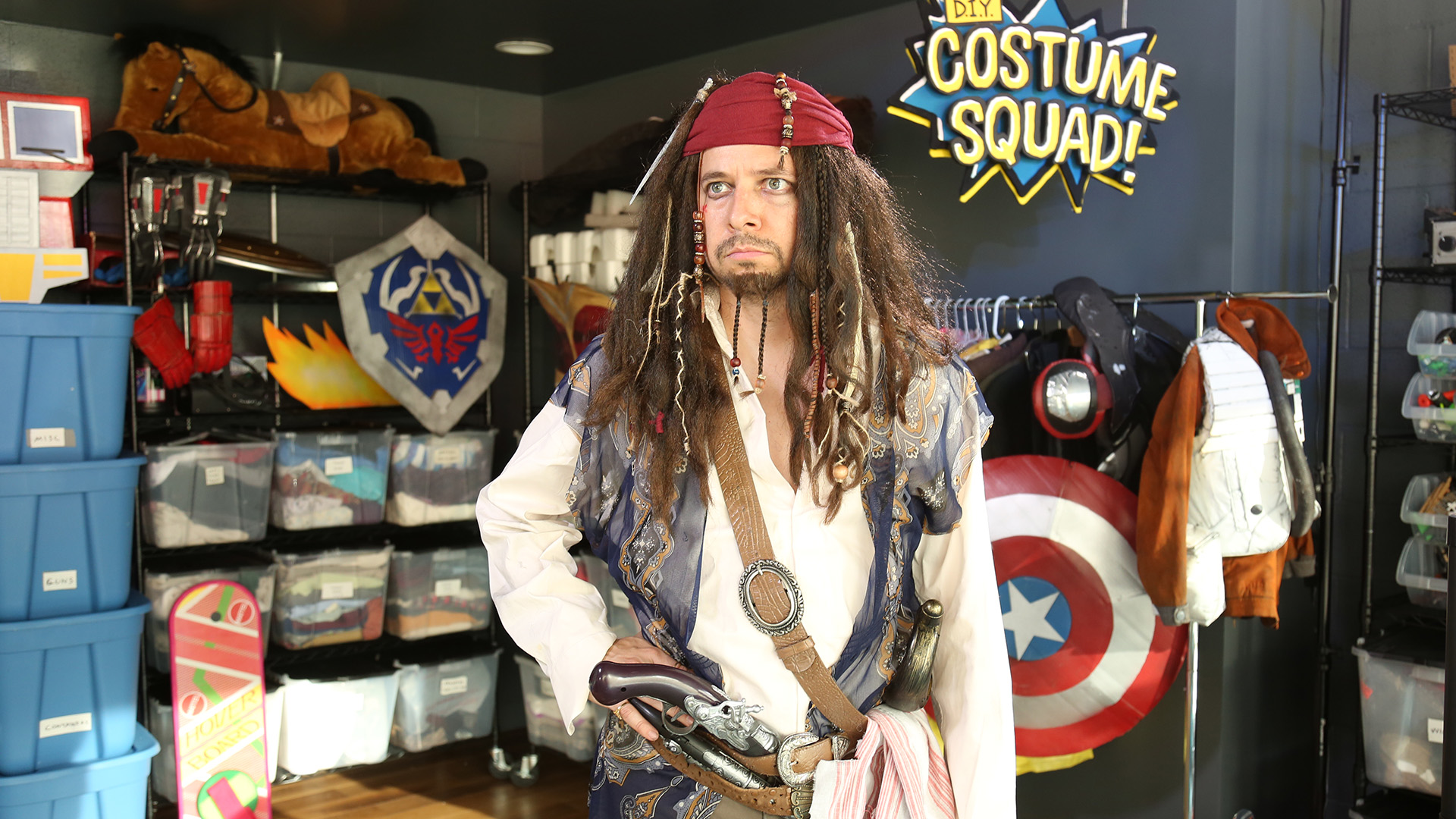 Yo Ho Here S A Clever Way To Build Your Very Own Captain Jack Sparrow Costume