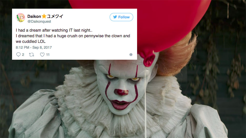 Pennywise From It Is The Internet S New Crush And It S Sort Of Weird