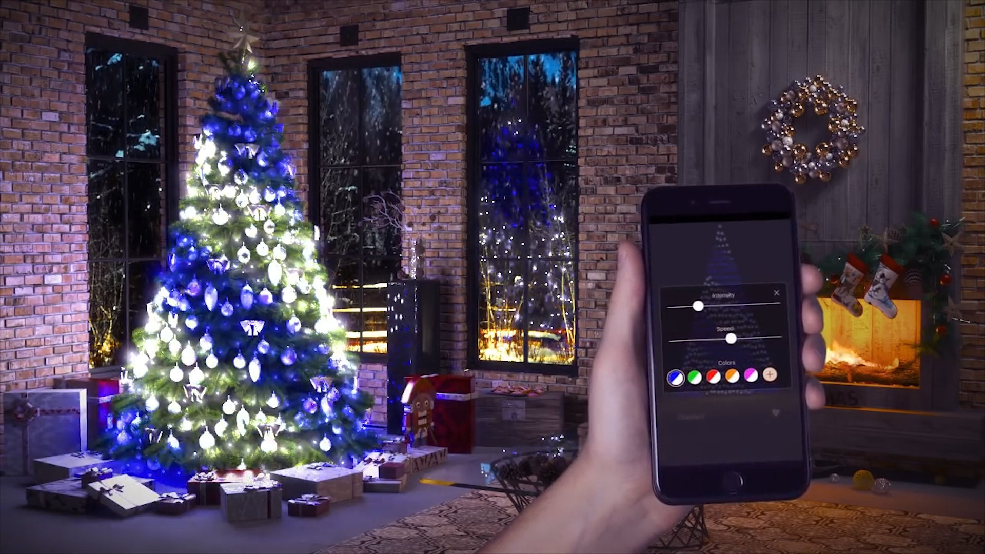 Christmas Light Remote Controls.You Can Now Control Your Christmas Tree Lights With Your Phone