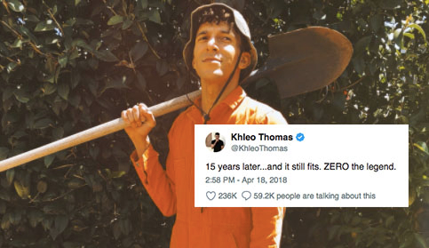 15 Years After Holes Zero Put On His Orange Jumpsuit Again
