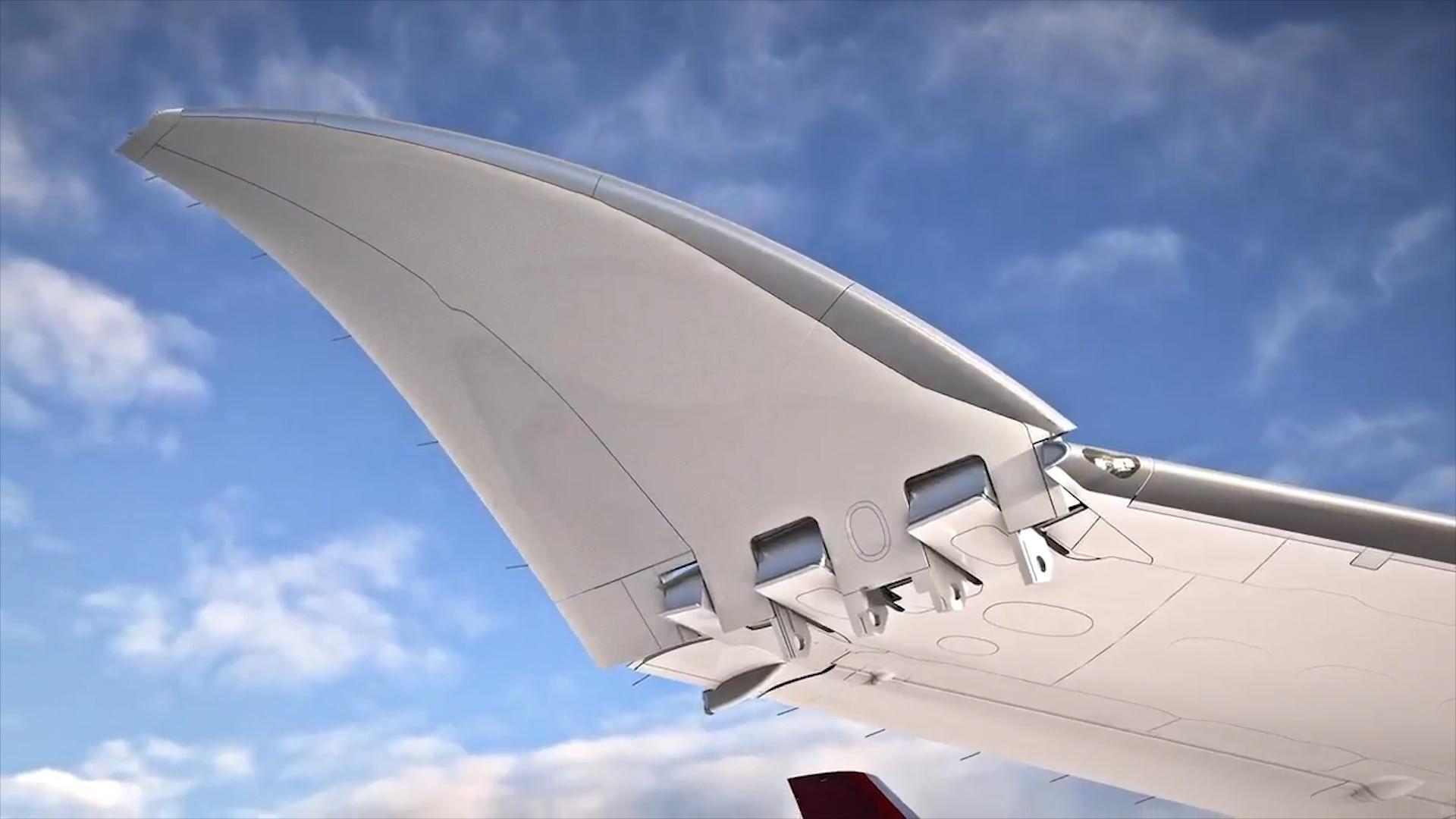 """Résultat de recherche d'images pour """"boeing folding wing"""""""