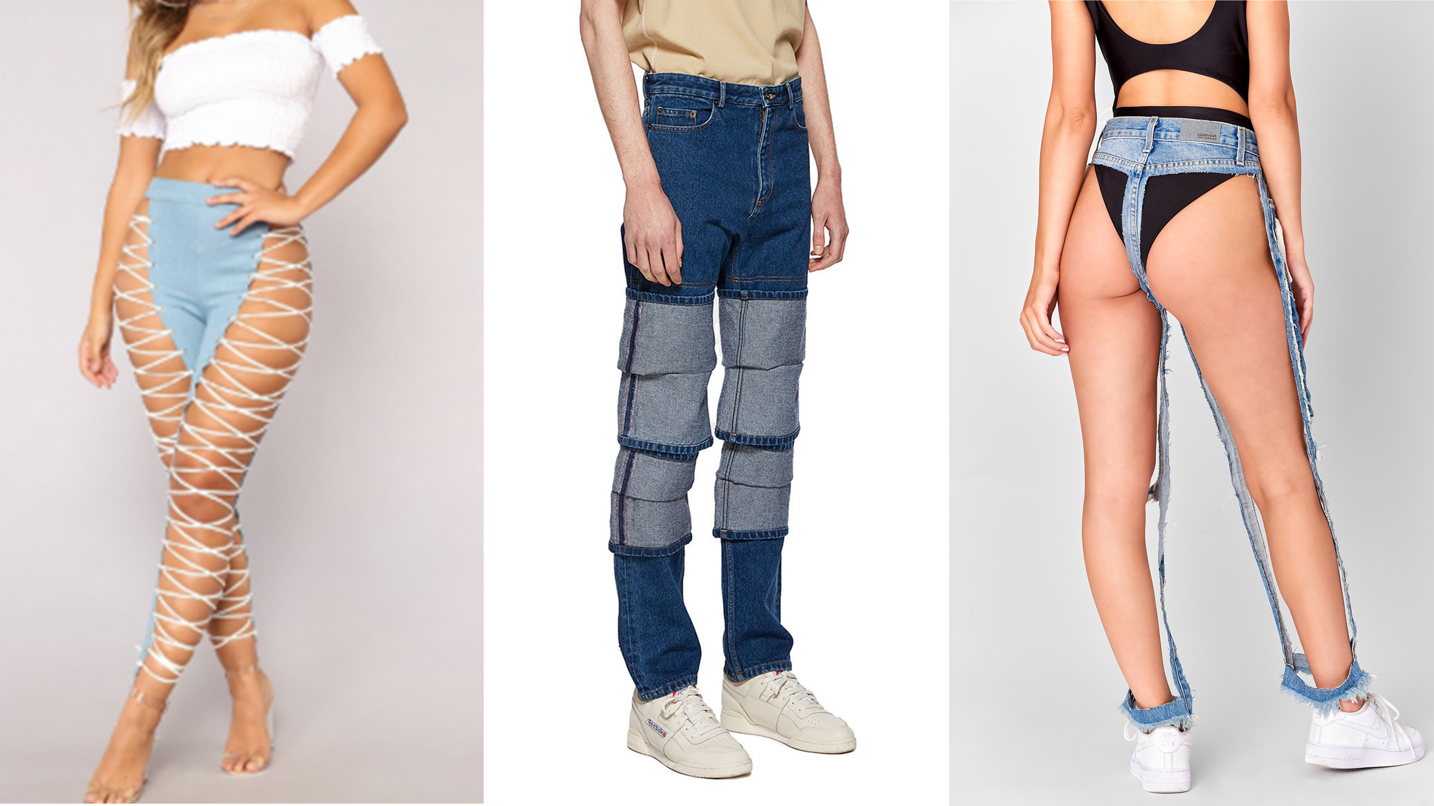 8 Terrible Jeans That Prove Denim Has Gone Too Far
