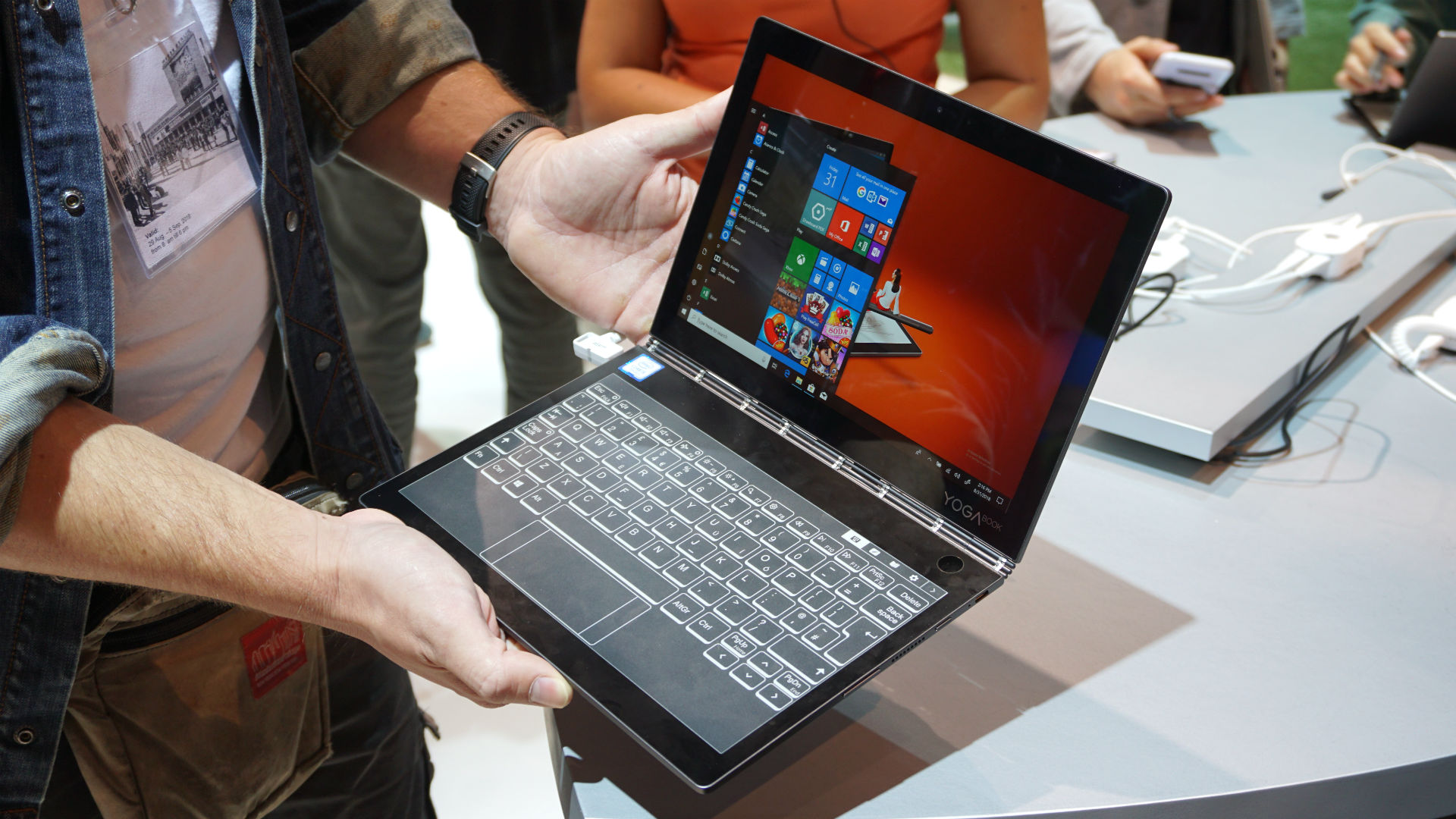 Lenovo S New Yoga Book Is Fun But Don T Think Of It As A Laptop