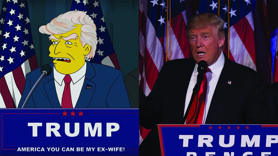 7 Ways The Simpsons Predicted The Chaos Of Donald Trump S Presidency