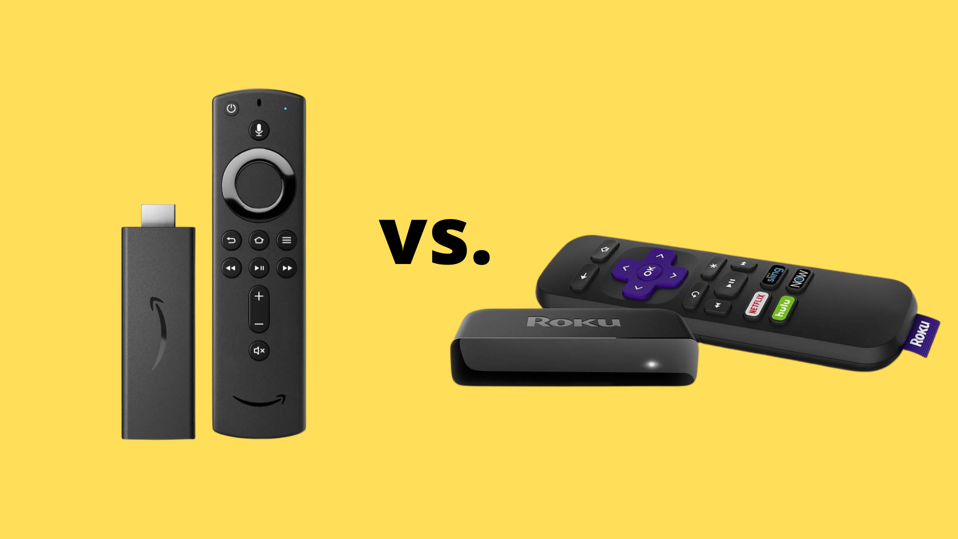Fire Tv Stick Vs Roku Premiere How The Streaming Media Players Compare