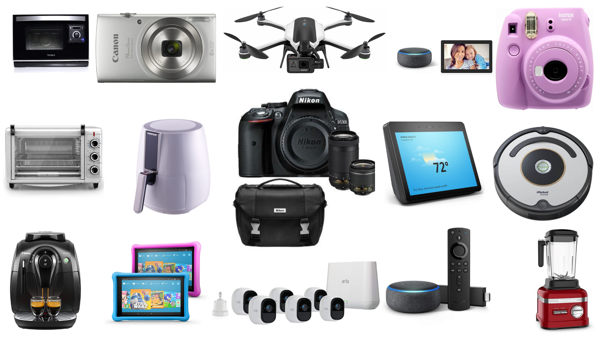 Best Pre Black Friday Deals For Nov 19 Nikon Dslr Cameras Ipad Gopro Drones Roomba Fire Tv Stick 4k