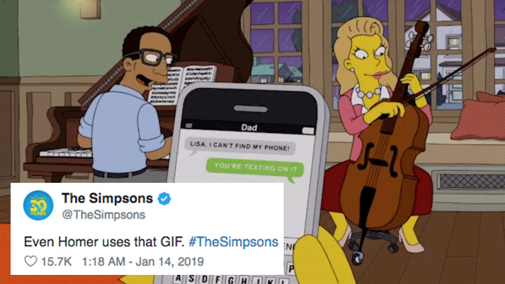 The Simpsons Featured A Meme Of Homer And It S So Wonderfully Meta