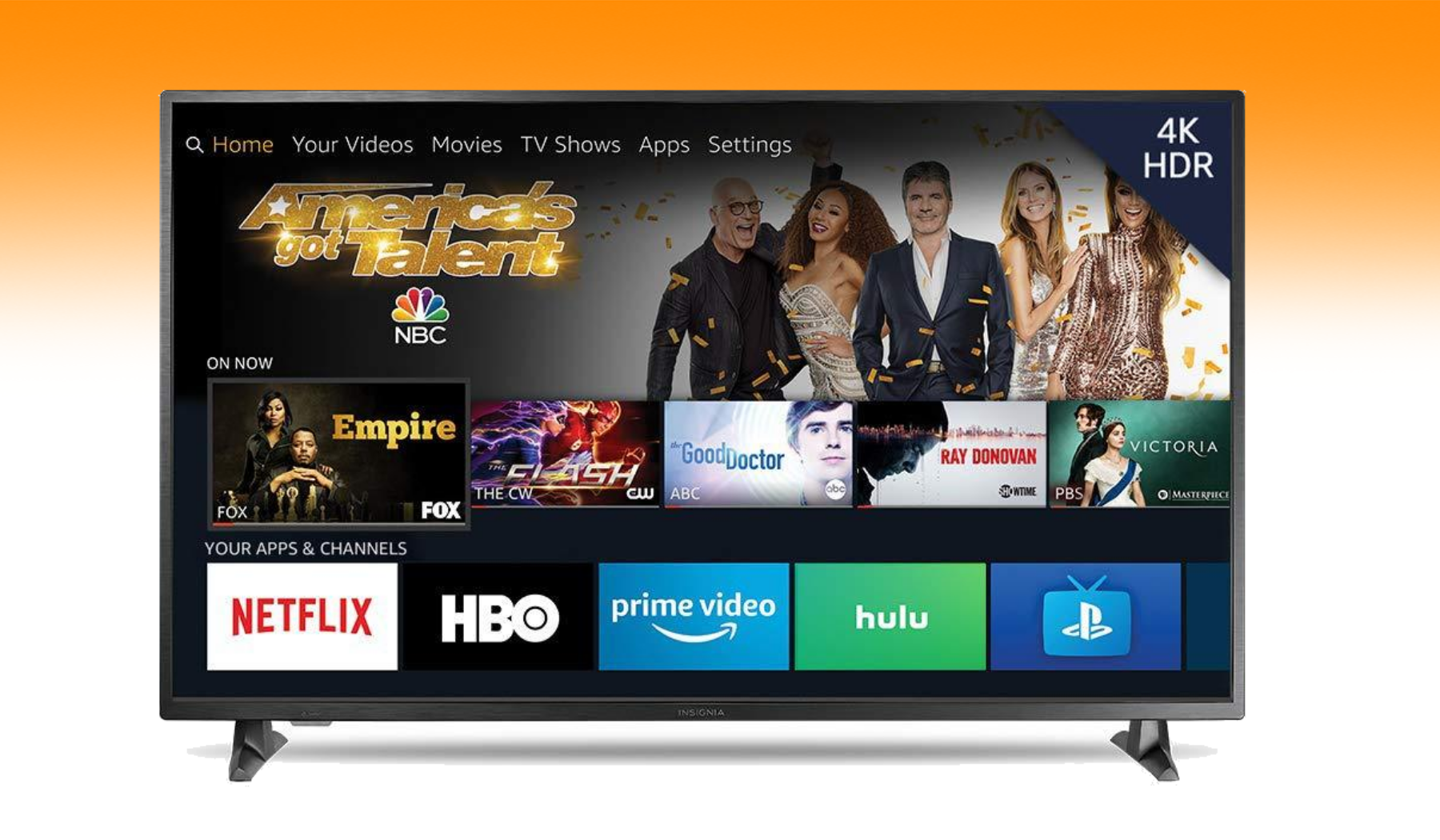 Insignia 55-inch 4K TV with Fire TV is on sale for $299.99 at Amazon