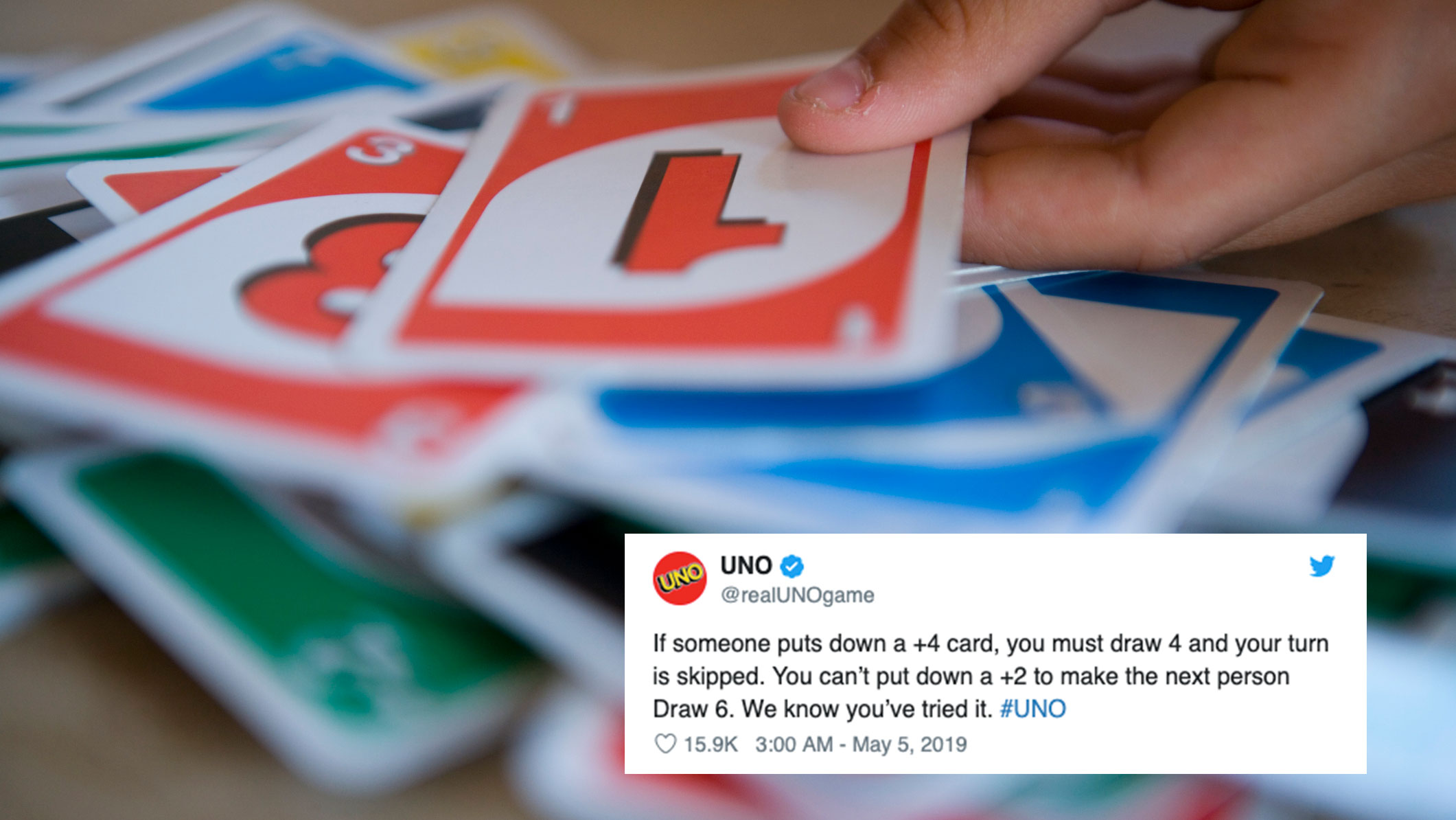 Uno Wants You To Stop Pulling This Illegal But Diabolical Move