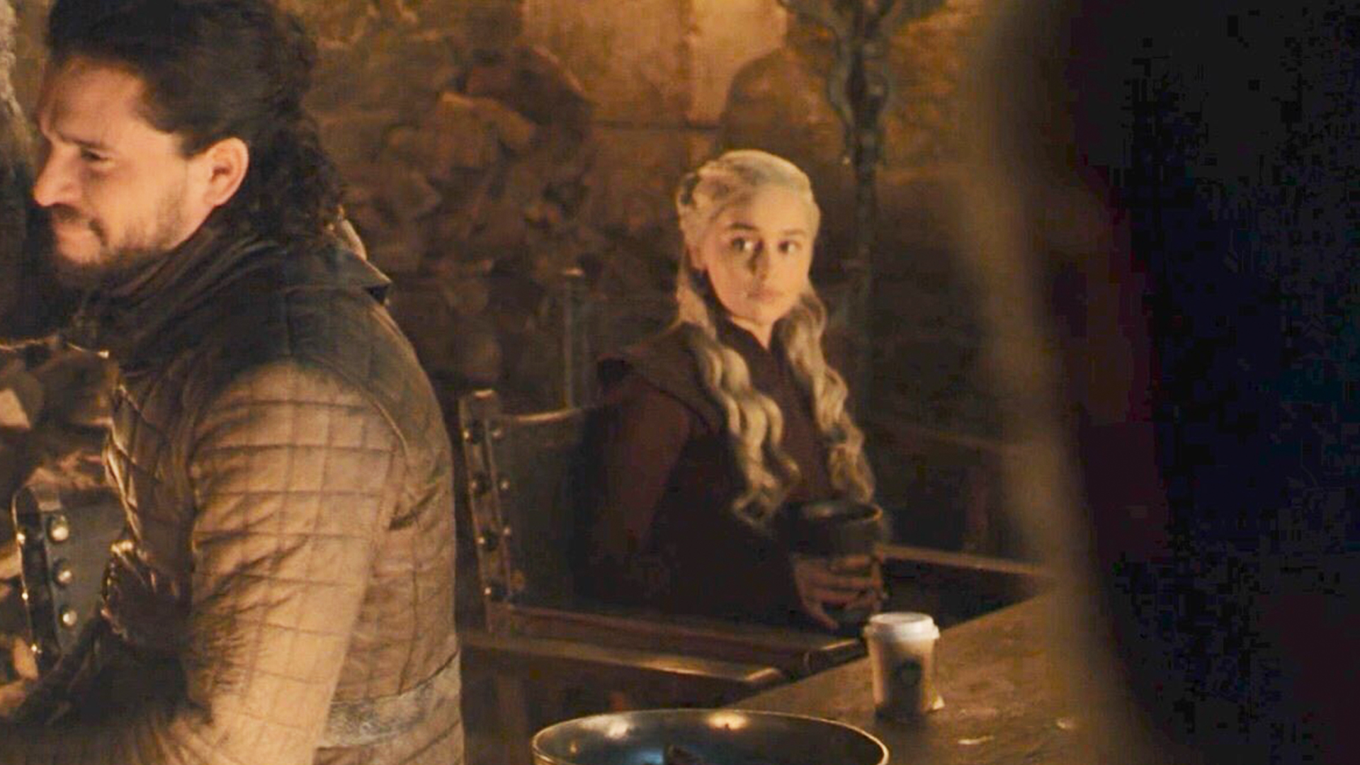 Starbucks cup spotted in 'Game of Thrones' episode