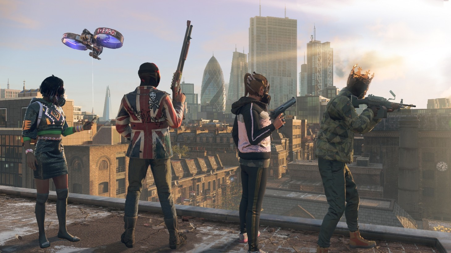 Watch Dogs Legion Is Missing Fat Bodies Because Of Tech Limitations