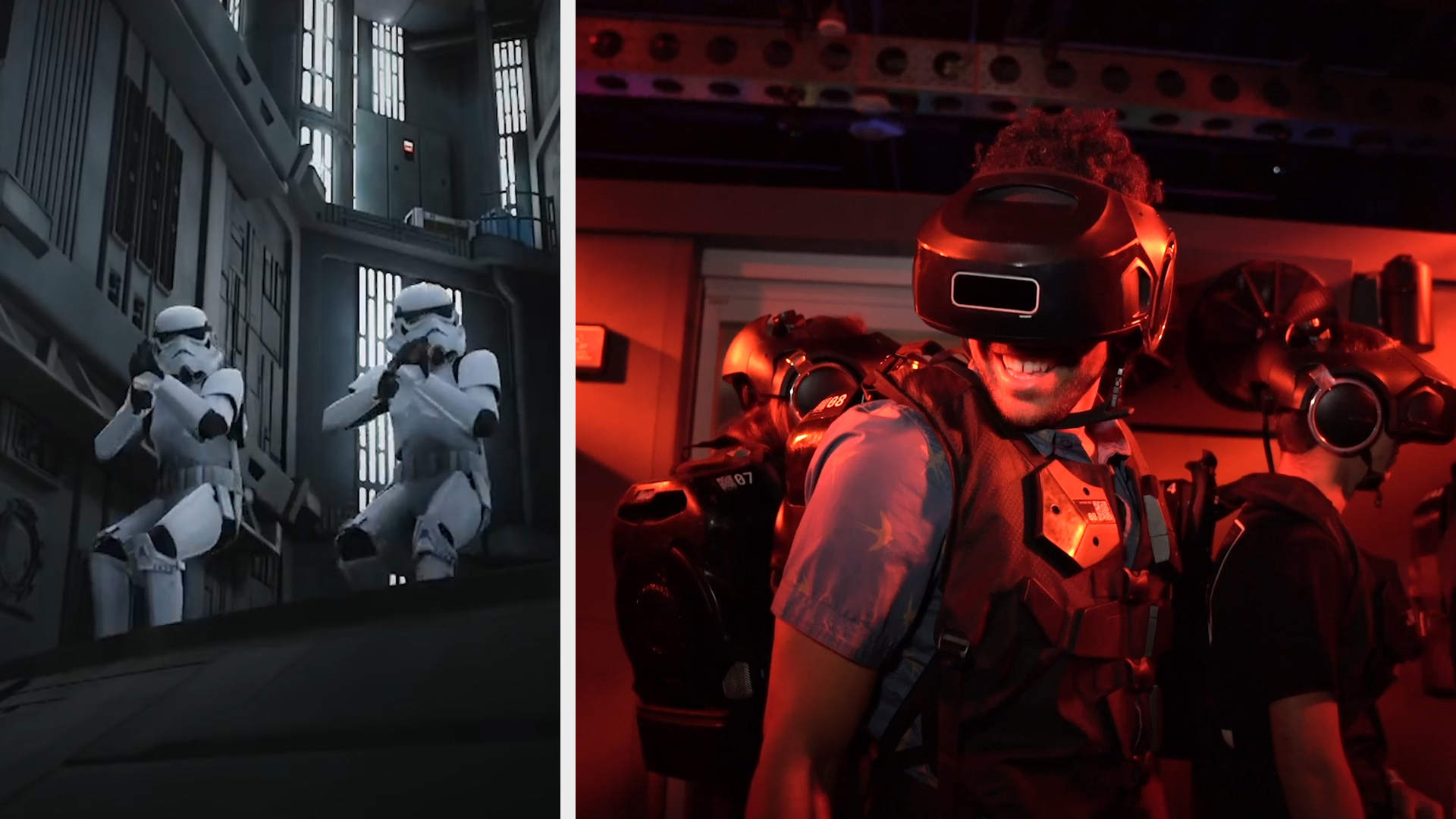 This immersive VR experience transports you to 'Star Wars' and other  fictional universes — Future Blink